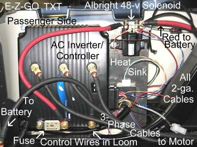 Wiring Diagram Pump Start Relay as well 2000 Club Car Gas Engine Serial Number together with 48 Volt Ez Go Rxv Golf Cart Wiring Diagram besides Electrical Switches together with 72V AC Power Conversion System  Many Golf Carts. on 1992 ez go electric golf cart wiring diagram