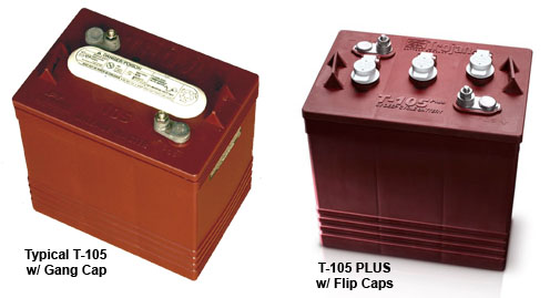bfs golf cart battery watering systems from the golf car catalog options out the trojan plus option are designed for the original trojan t 105 batteries or battery types that are otherwise indicated