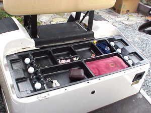 Underseat and Overhead Storage Trays