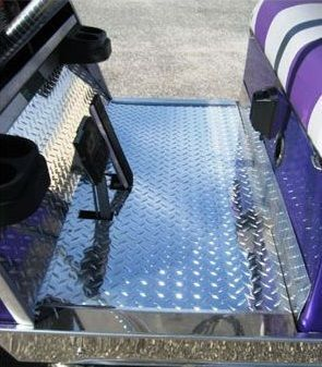 EZGO Diamond Plate and Stainless Enhancements