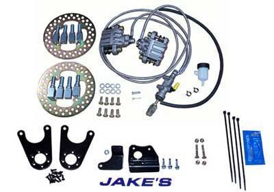 Front Hydraulic Disc Brake Kits